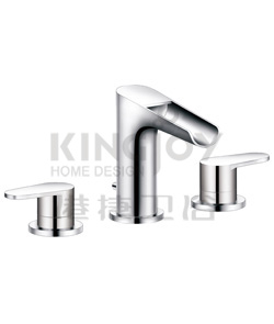 (KJ833T001) 3-hole basin mixer deck-mounted