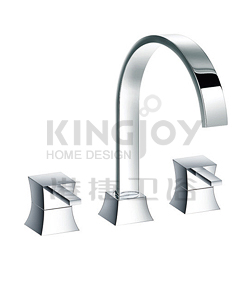 (KJ818R001) 3-hole bath mixer deck-mounted