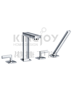 (KJ806R000) 4-hole bath mixer deck-mounted