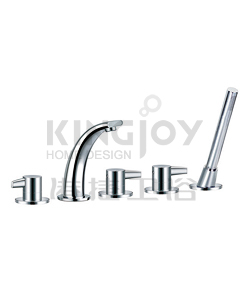 (KJ828S000) 5-hole bath/shower mixer deck-mounted