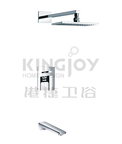 (KJ8027206) Single lever bath/shower mixer