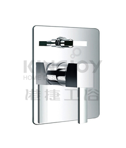 (KJ818X000) Single lever concealed 4-way bath/shower mixer with diverter