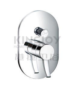 (KJ828X000) Single lever concealed 4-way bath/shower mixer with diverter