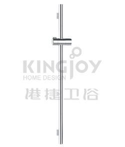 (KJ8077110) Slide rail set with handshower and flexible hose