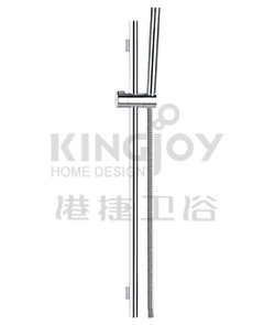 (KJ8167101) Slide rail set with handshower and flexible hose