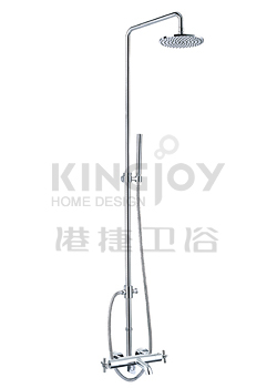 (KJ8218300) Thermostatic bath/shower mixer with rain shower