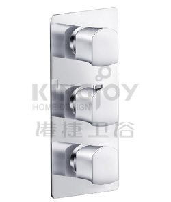 "(KJ8354134(G1/2"")) Thermostatic concealed mixer with volume control"