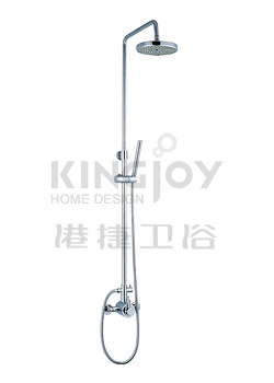 (KJ8078309) Thermostatic shower mixer with rain shower