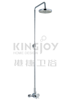 (KJ8217007) Thermostatic shower mixer with rain shower