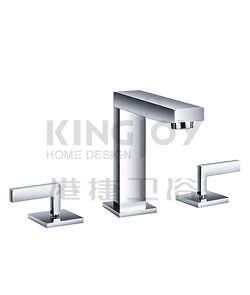 (KJ806T000) Two-handle basin mixer deck mounted