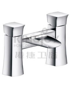 (KJ835N000) Two-handle bath mixer deck-mounted