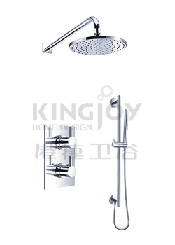 (KJ8078410) Wall thermostatic concealed shower mixer