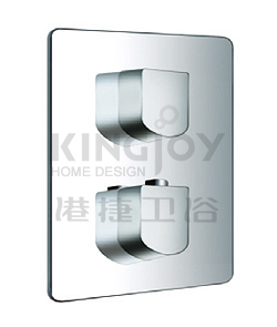 "(KJ8054100(G1/2"") KJ8054130(G3/4"")) Wall thermostatic shower mixer"