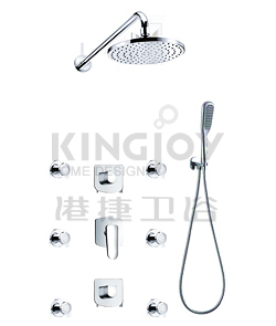 (KJ8058300) Wall thermostatic shower mixer
