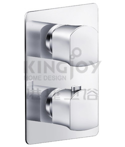 (KJ8354131) Wall thermostatic shower mixer 2-way diverter