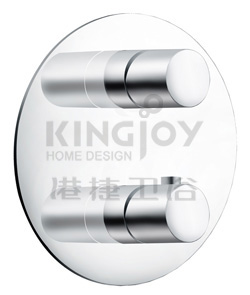 (KJ8374131) Wall thermostatic shower mixer 2-way diverter