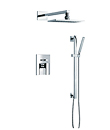 Single Lever concealed mixer with slide shower set