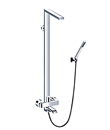 (KJ8127001) Single lever bath/shower mixer