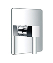 (KJ818Y000) Single lever concealed 3-way shower mixer without diverter