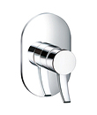 (KJ828Y000) Single lever concealed 3-way shower mixer without diverter