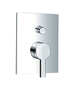 (KJ816X000) Single lever concealed 4-way bath/shower mixer with diverter