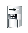 Single lever concealed 4-way bath/shower mixer with diverter