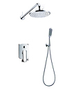 (KJ8057200) Single lever concealed bath/shower mixer