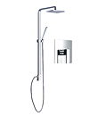 (KJ8067201) Single lever concealed shower mixer
