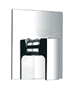 Single lever concealed shower mixer without diverter