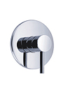 (KJ807Y000) Single lever concealed shower mixer without diverter
