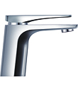 (KJ805A000) Single lever mono basin mixer