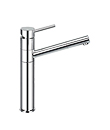 (KJ807G020) Single lever sink mixer pull-out handshower