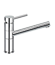 (KJ807G021) Single lever sink mixer pull-out handshower