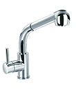 (KJ807G000) Single lever sink mixer with pull-out handshower