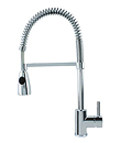 (KJ807P000) Single lever spring sink mixer