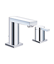 (KJ816A001) Single lever two-hole basin mixer