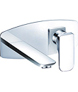 (KJ805V000) Single lever wall basin mixer