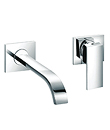 (KJ806V002) Single lever wall basin mixer