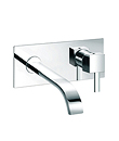 (KJ818V001) Single lever wall basin mixer