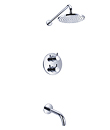 (KJ8078305) Thermostatic concealed bath/shower mixer