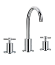 (KJ821T000) Two-handle basin mixer