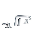 (KJ802T000) Two-handle basin mixer deck mounted