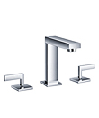 Two-handle basin mixer deck mounted