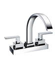 (KJ806T001) Two-handle basin mixer deck mounted