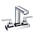 (KJ806T002) Two-handle basin mixer deck mounted
