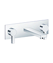 (KJ816Q000) Two-handle basin mixer wall-mounted