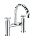 (KJ821N000) Two-handle bath mixer deck mountded