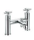 (KJ821M001) Two-handle bath/shower mixer deck mountded