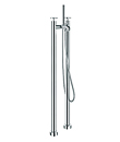 (KJ821M002) Two-handle bath/shower mixer floor-mounted