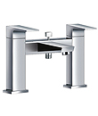 (KJ802M000) Two-handle deck bath/shower mixer